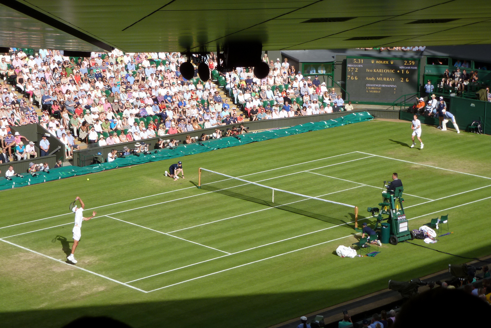 Sitting courtside at Wimbledon is every tennis fans dream  And the    Wimbledon Logo Hi Res