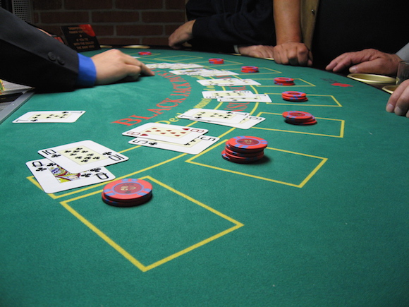 Blackjack_board