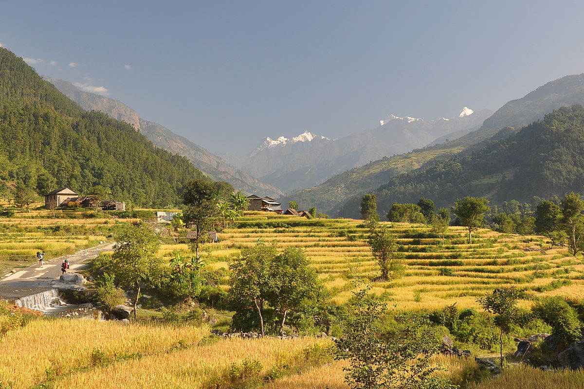 Trekking in Nepal will provide you with some of the best views in the world ... photo by CC user lkolisko on Flickr