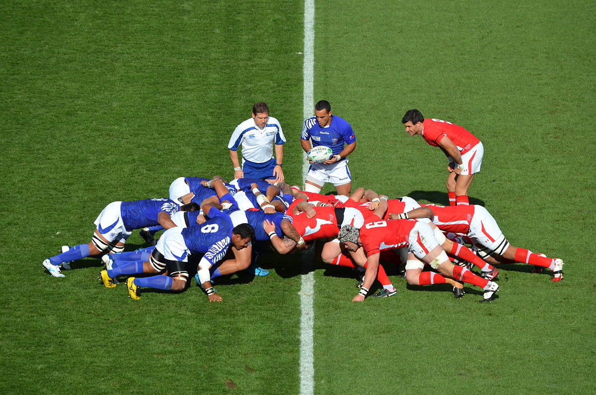 The Rugby World Cup is an exciting time for many sports fans around the world ... photo by CC user 67764570@N06 on Flickr