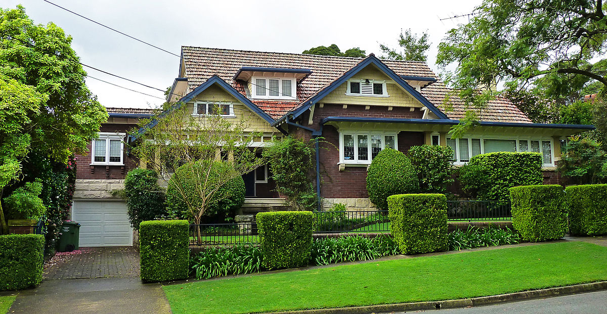 With many types of home loans and mortgages available in Australia, a house like this could soon be within your reach ... photo via CC user OSX on wikimedia