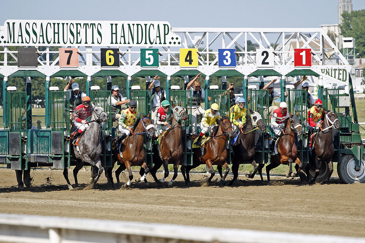 Sports betting is fun - especially when your horse wins! ... photo by CC user Anthony92931 on wikimedia