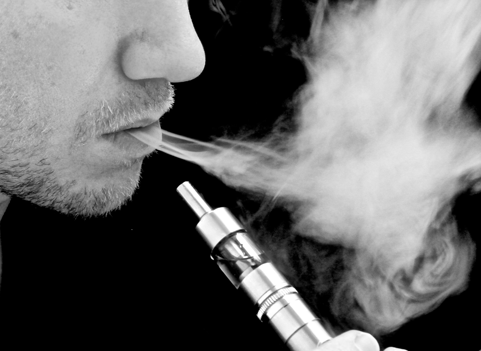 Learn how vaping helps smokers quit ... photo by CC user ecigclick on Flickr