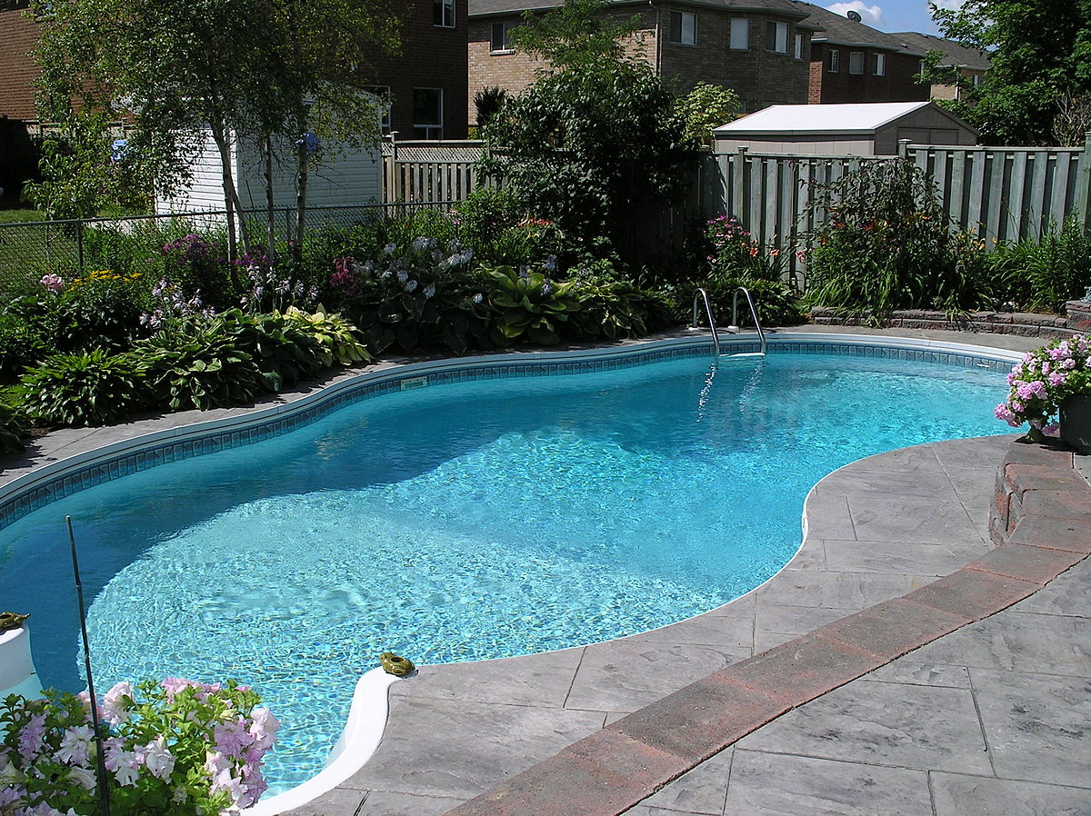 Putting in a pool is one of the best ways to add water to your home ... photo by CC user Vic Brincat on Flickr