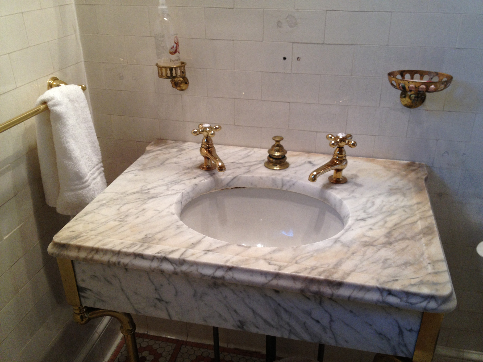 Replace Bathroom Sink : Replacing An Old Bathroom Sink is easier than it sounds ... photo by ...