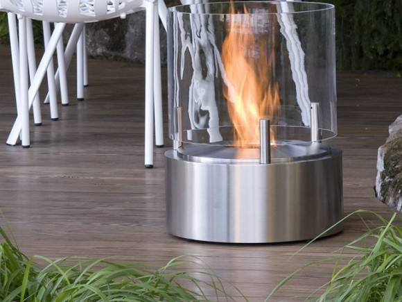 A patio heater is a welcome piece of outdoor furniture come fall