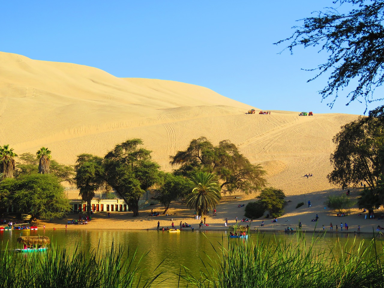 Huacachina is one of the most Beautiful Places in Latin America