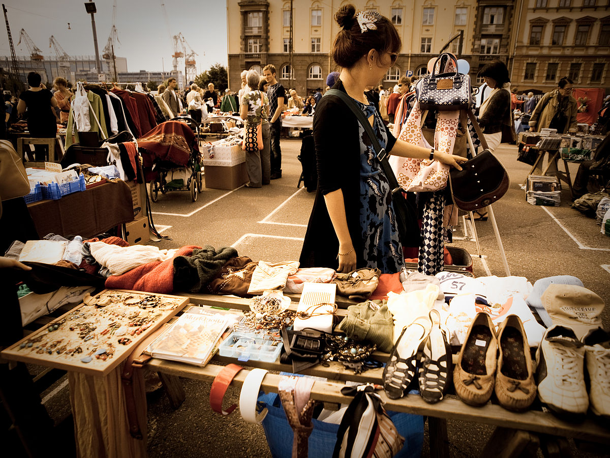 Great Flea Markets have many desirable qualities to them