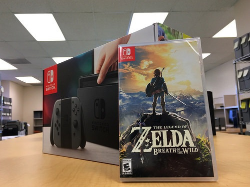 Will the Nintendo Switch bring an end to physical gaming? Only time will tell...