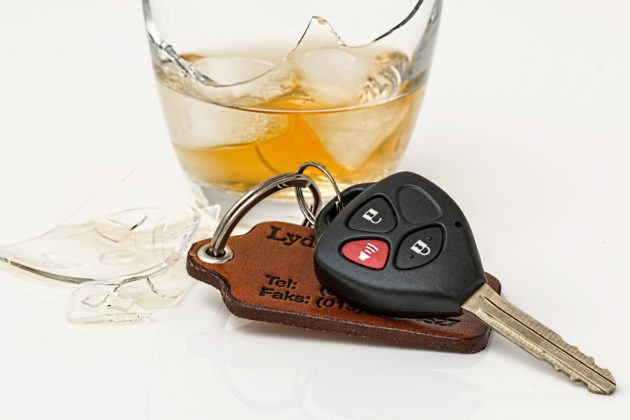 recognize a drunk driver