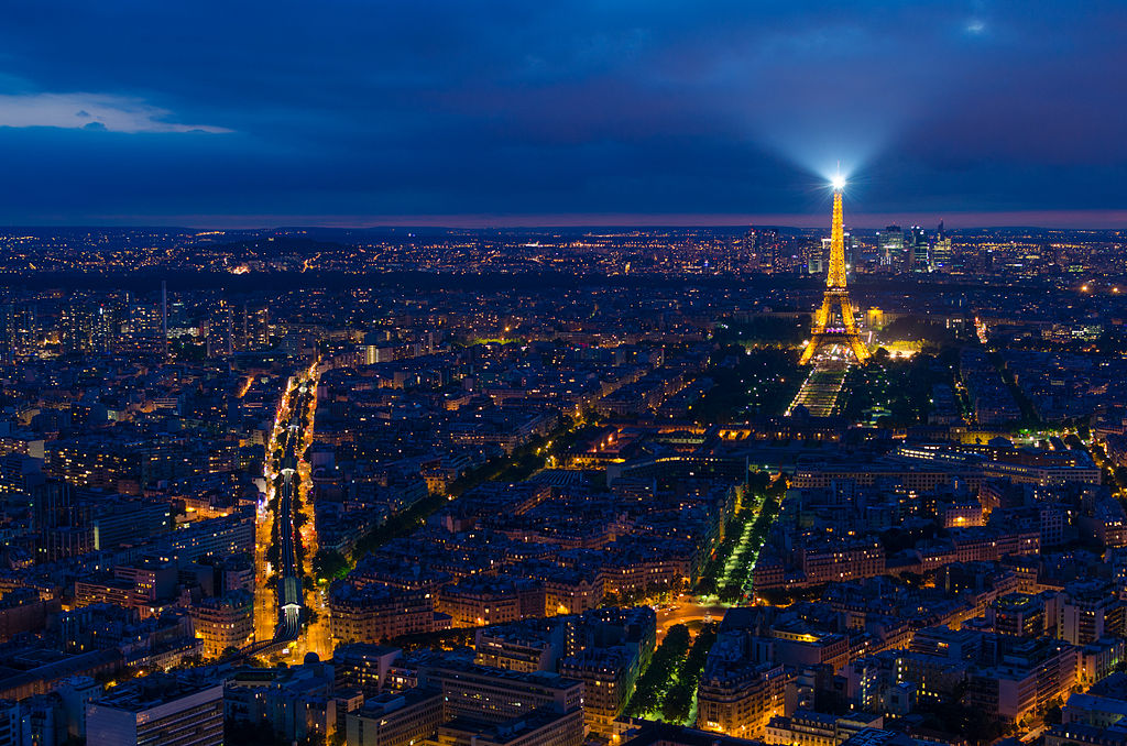 They don't call it the City of Light for nothing ... photo by CC user shepard4711 on Flickr